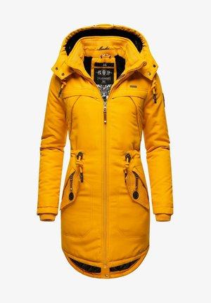 KAMII - Winter coat - dark yellow