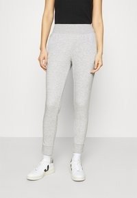 CALANDO - Joggebukse - mottled light grey - 0