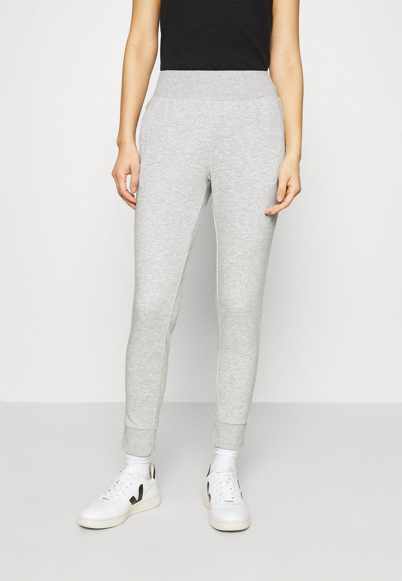CALANDO - Pantalones deportivos - mottled light grey