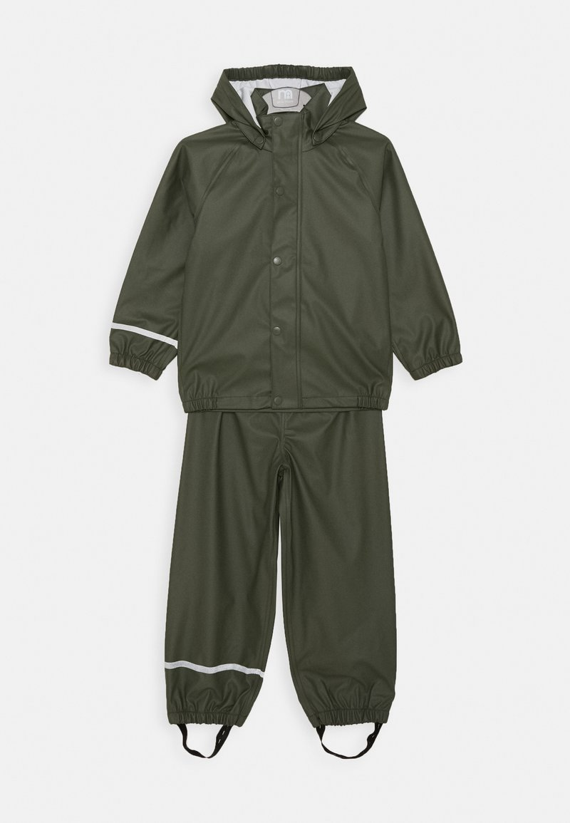 Name it - NKNDRY RAIN SET - Rain trousers - thyme