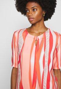 Barbara Lebek - Day dress - coral/ orange/ taupe - 3