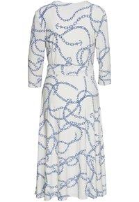 Lauren Ralph Lauren - PRINTED MATTE DRESS - Jerseyklänning - colonial cream - 6