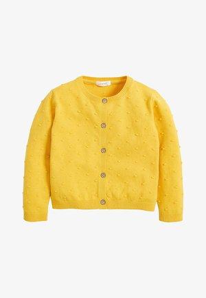 BOBBLE  - Cardigan - yellow