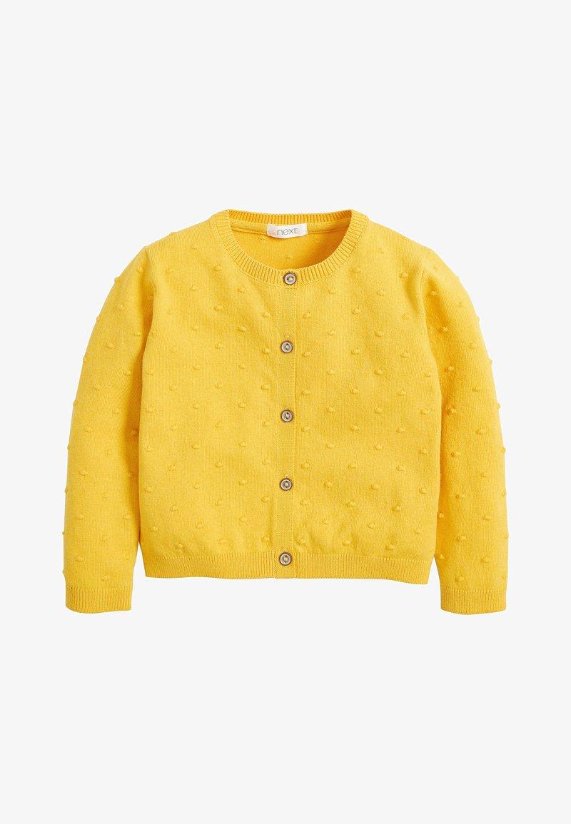 Next - BOBBLE CARDIGAN (3MTHS-7YRS) - Cardigan - yellow