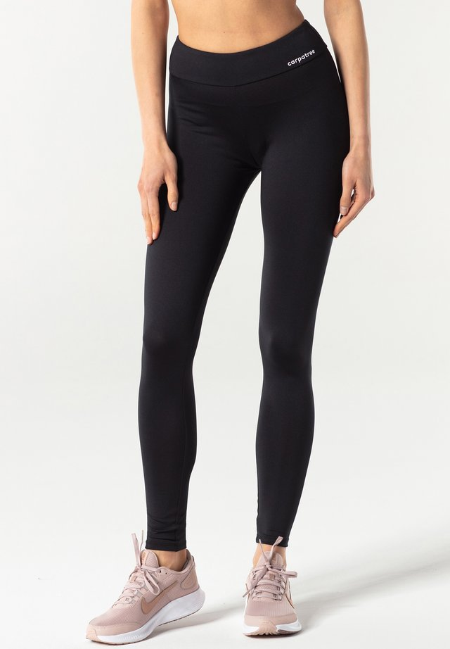 REGULAR WAIST - Legging - black