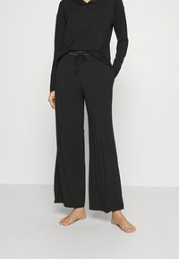 Calvin Klein Underwear - SLEEP PANT - Pyjama bottoms - black - 0