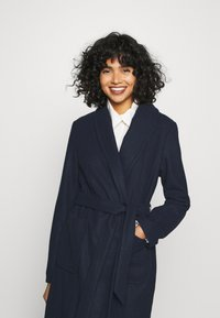 Vila - VITULIP COAT - Classic coat - navy blazer - 5