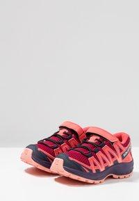 Salomon - XA PRO 3D - Hiking shoes - cerise/acai/bird of paradise - 3