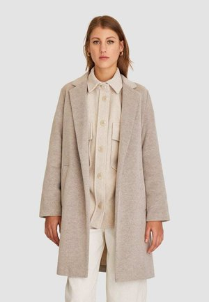 STRICKMANTEL 05899429 - Classic coat - white