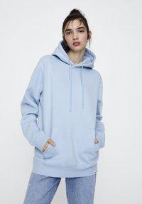 PULL&BEAR - Hoodie - light blue - 6