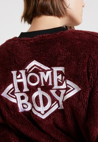 Homeboy - POODLE - Fleece jacket - bordeaux - 4