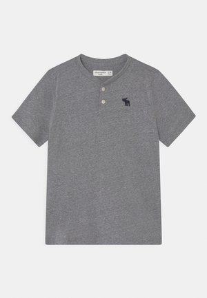 HENLEY  - Print T-shirt - grey pattern