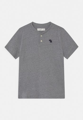 HENLEY  - Print T-shirt - grey pattern