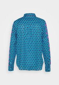 J.CREW - Button-down blouse - blue/pink - 1