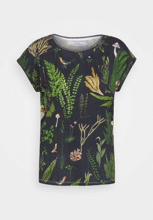 VISBY SECRET GARDEN - Print T-shirt - multi color