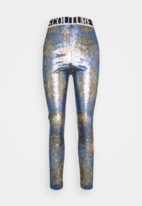 Versace Jeans Couture - PANTS - Leggings - Trousers - blue - 6