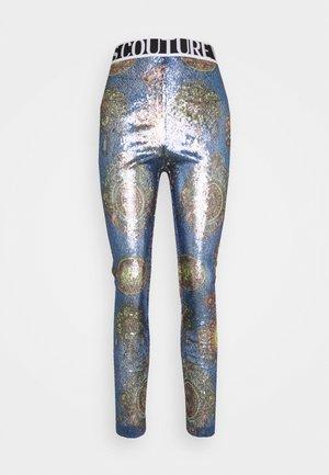 PANTS - Legíny - blue