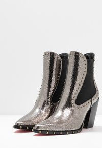 Pinko - ENDINE  - High heeled ankle boots - grey - 4