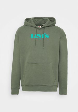 RELAXED GRAPHIC  - Hoodie - thyme