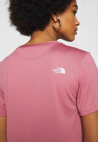 The North Face - Camiseta estampada - mesa rose - 5