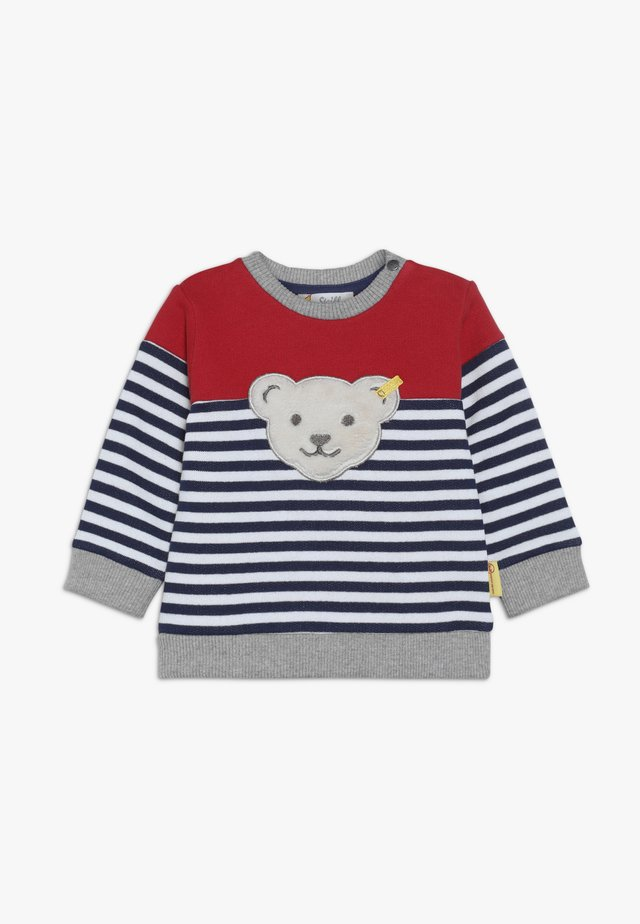 STRIPE BEAR BABY - Felpa - bright white