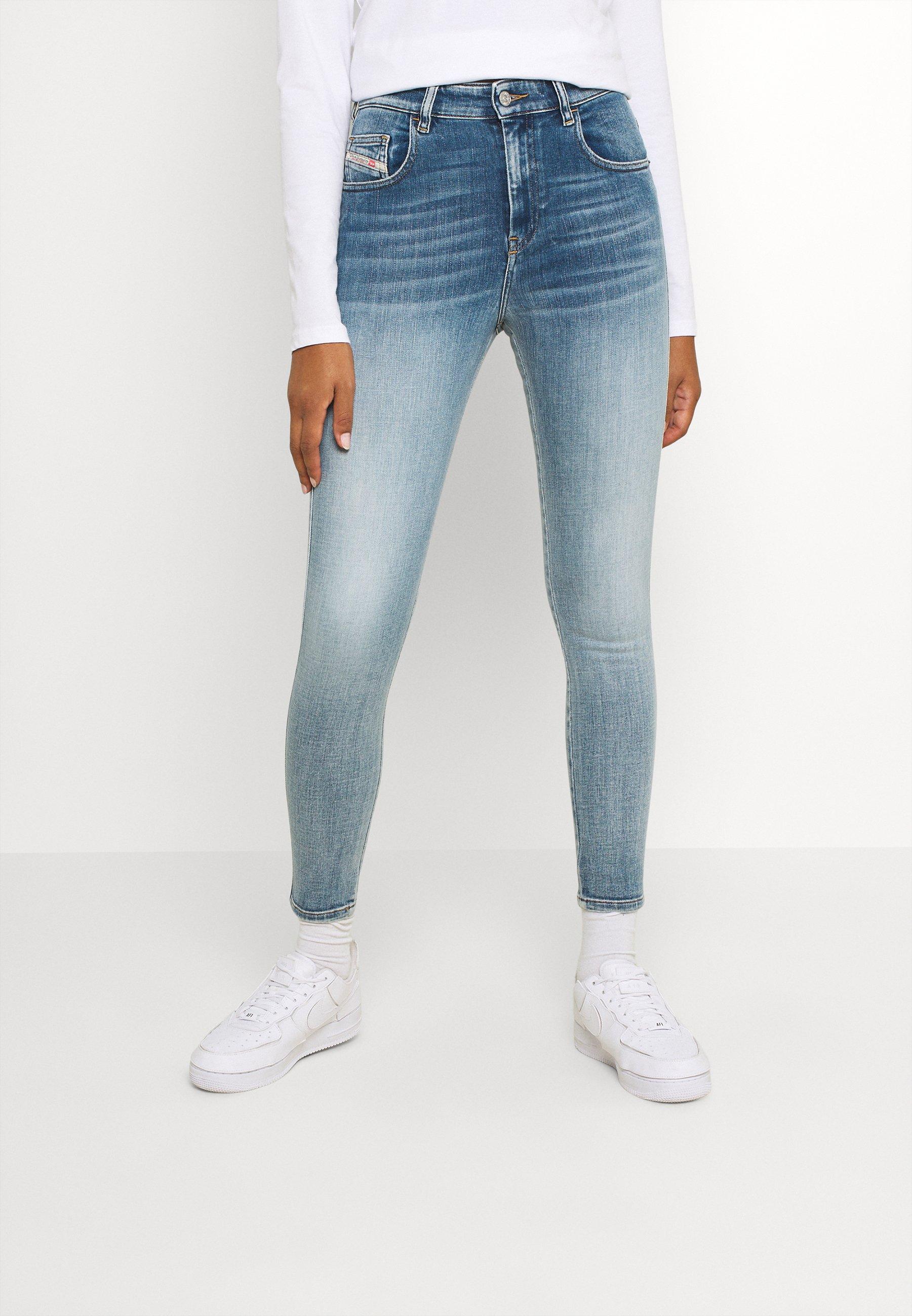 Damen D-SLANDY-HIGH - Jeans Skinny Fit