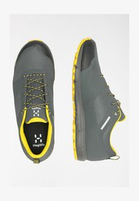Haglöfs - L.I.M LOW PROOF ECO - Hiking shoes - magnetite/signal yellow - 2