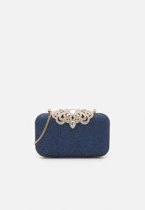 MELISSA EMBELLISHED CLASP - Clutch - navy