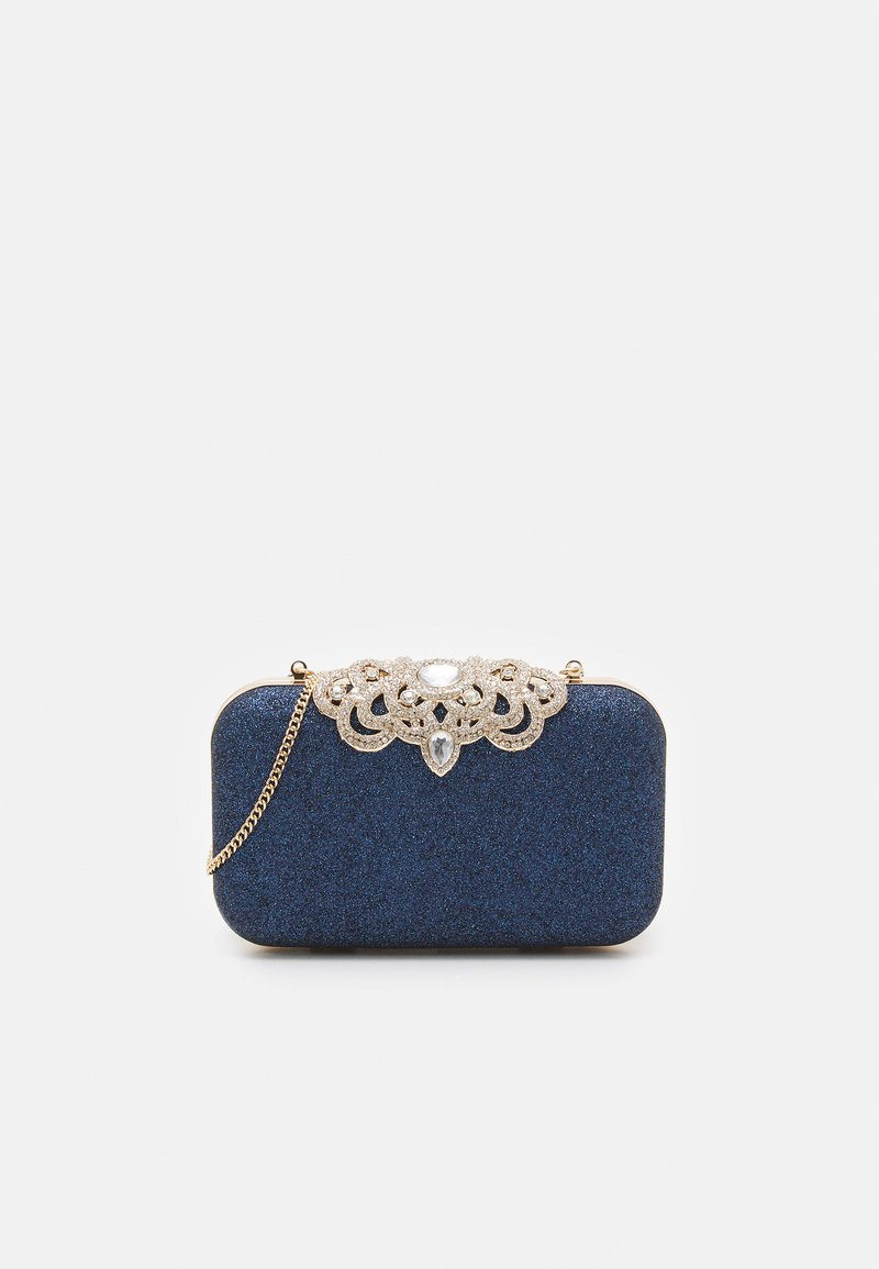 Forever New - MELISSA EMBELLISHED CLASP - Clutch - navy