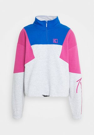 SIGNATURE BLOCK TROYER - Sweatshirt - grey