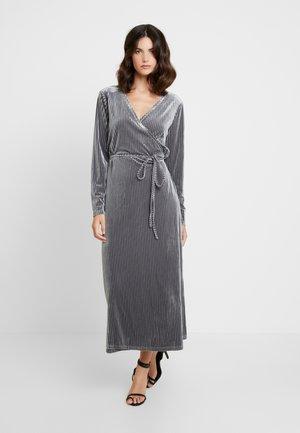 VIOLA WRAP DRESS - Cocktail dress / Party dress - silver grey