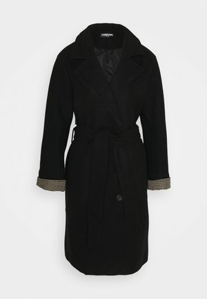 LUCIEN - Trenchcoat - black