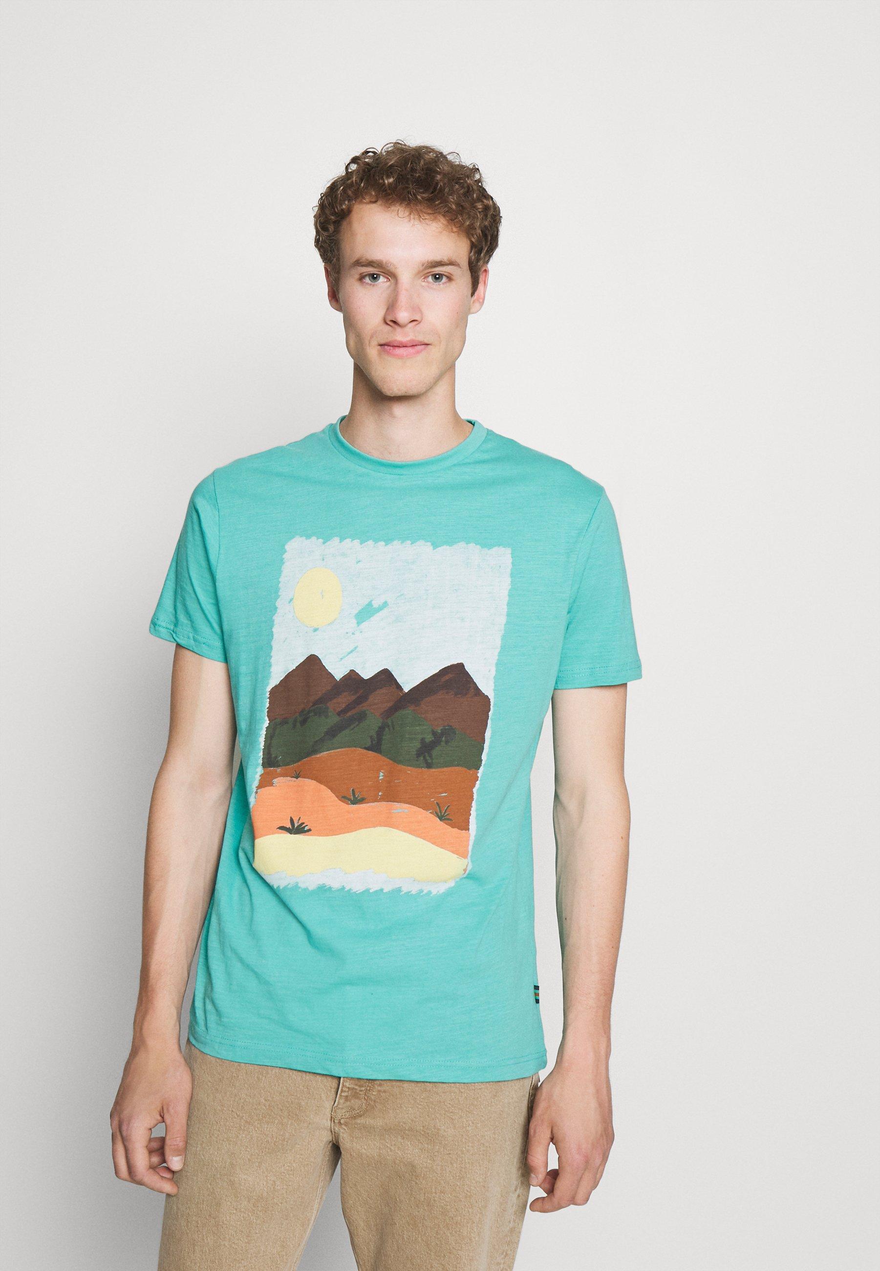 Men PAISAJE - Print T-shirt