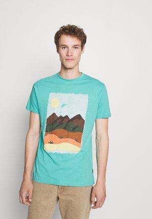 PAISAJE - Print T-shirt - turquoise/teal