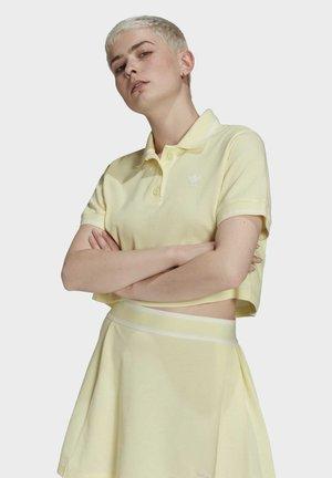 TENNIS LUXE POLO ORIGINALS - Polo shirt - haze yellow