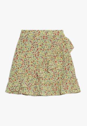 KONTHYRA FAKE WRAP SKIRT - A-line skirt - popcorn