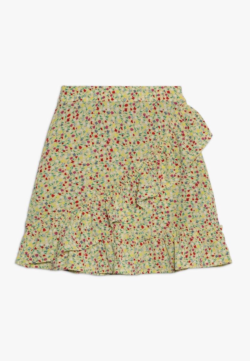 Kids ONLY - KONTHYRA FAKE WRAP SKIRT - A-line skirt - popcorn
