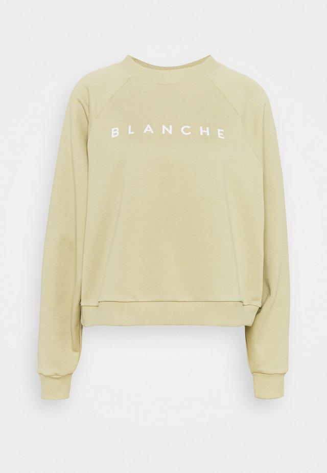 HELLA - Sweatshirt - khaki beige