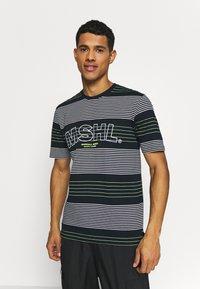 Marshall Artist - KENMARE - T-shirt z nadrukiem - navy - 0