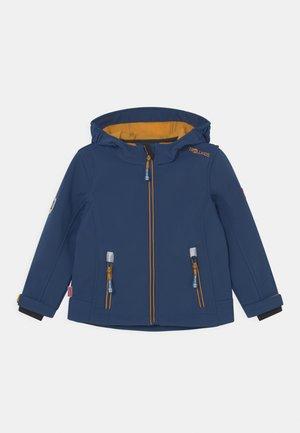 TROLLFJORD UNISEX - Softshellová bunda - mystic blue/golden yellow