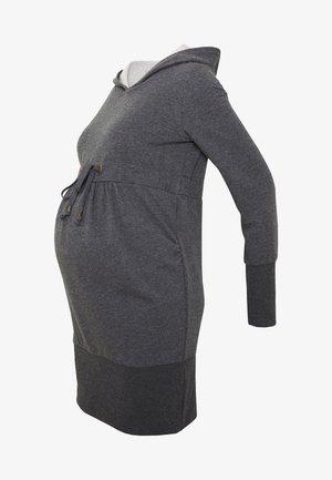 NEW KARLA LONG - Hoodie - medium grey melange