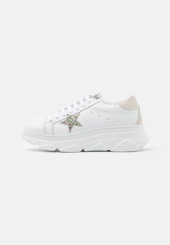 ANDREA - Sneakers basse - bianco/beige