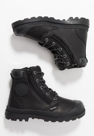 HI CUFF WP - Lace-up ankle boots - black/vapor