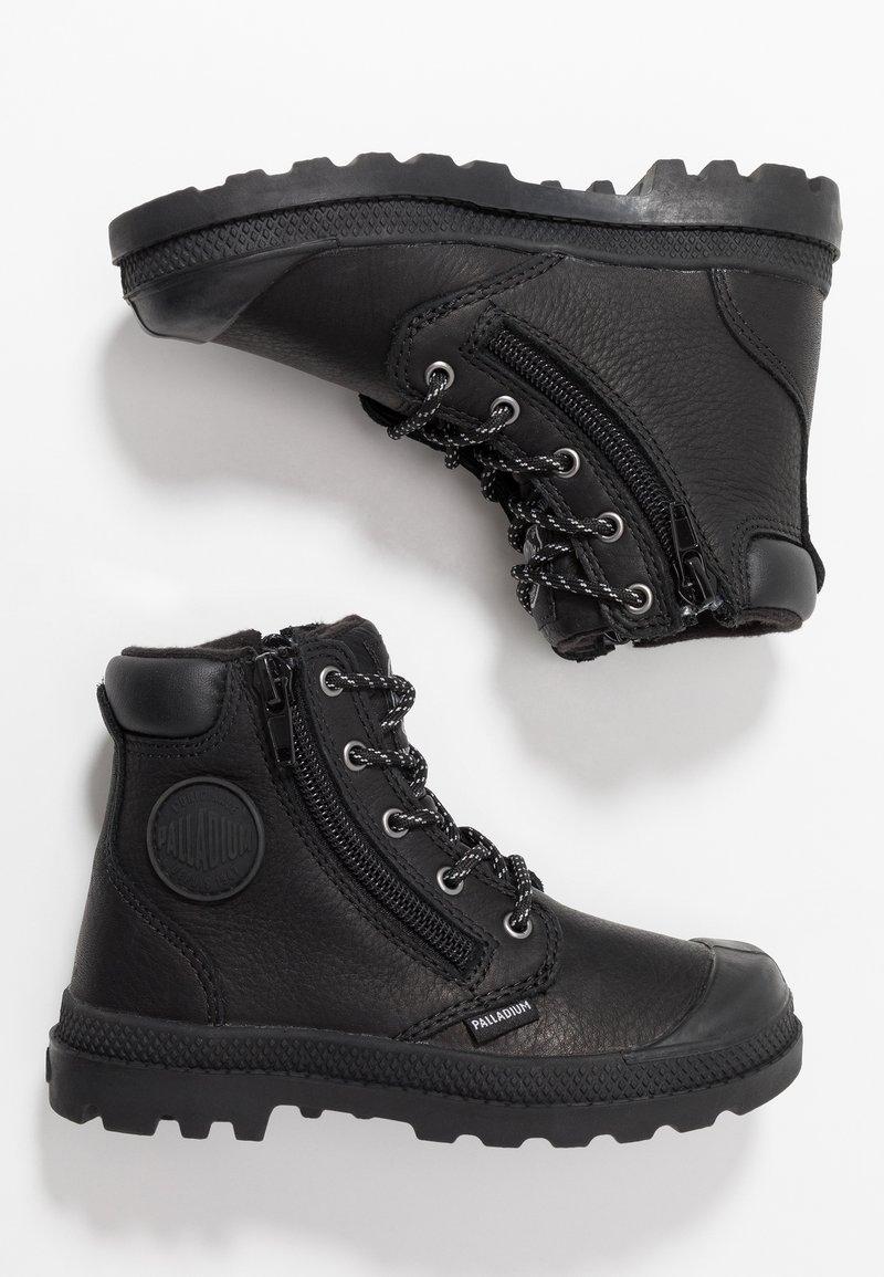 Palladium - HI CUFF WP - Veterboots - black/vapor