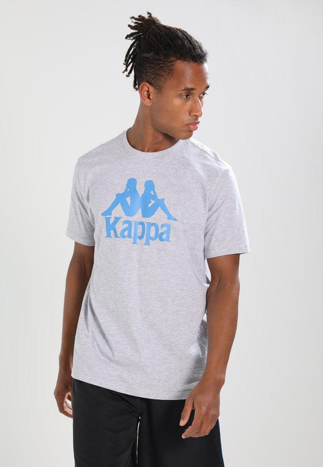CASPAR - T-shirt med print - grey melange