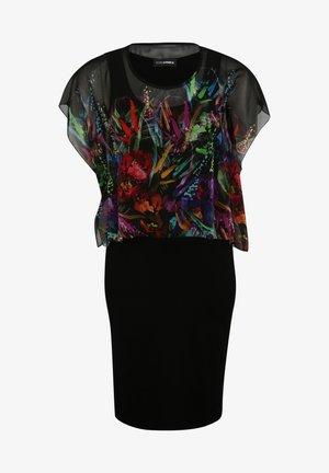 Etui-jurk - multicolor