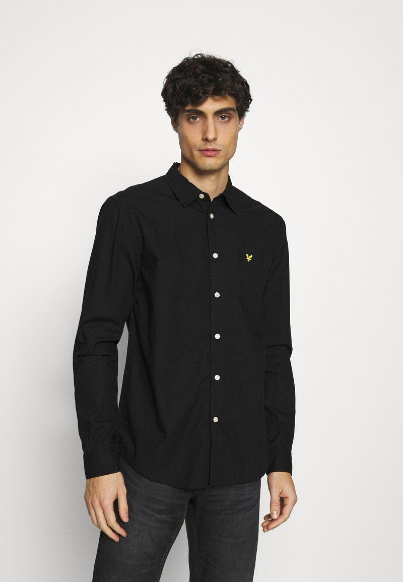 Lyle & Scott - RIPSTOP - Shirt - jet black