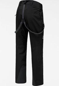 Haglöfs - LUMI FORM PANT - Snow pants - true black - 6