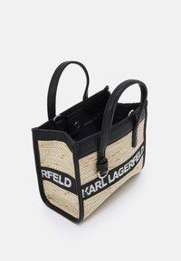 KARL LAGERFELD - SKUARE SMALL LOGO TOTE - Across body bag - black - 3