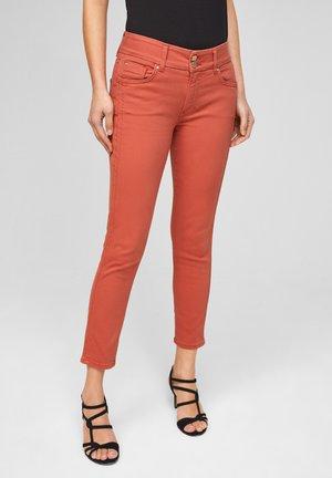 Jean slim - dusty apricot